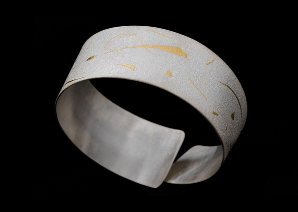 white collection bangle